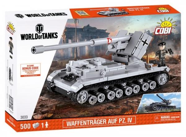 Klocki Mała Armia - Waffentrager auf Pz.IV (3033)