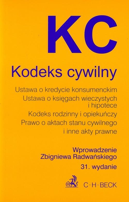 Kodeks cywilny Radwański Zbigniew