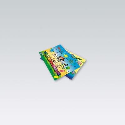 Zeszyt papierów kolorowych A5