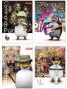 Brulion Dan-Mark penguin A5 krata 96 (5905184014339)