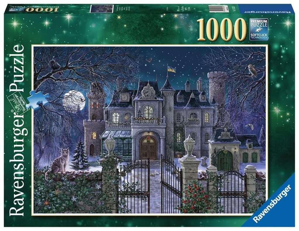 Puzzle 1000: Świąteczna posiadłość (16533)
