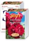 Kalendarz 2021 - Kalendarz tradycyjny z różą zdzierak