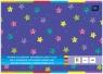 Zeszyt papierów kolorowych B4 fluo samoprzylepny