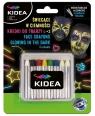 Kredki do twarzy Kidea, zestaw 8 kolorów (DRF-079339)