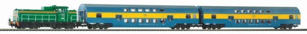 Zestaw osobowy PKP z SM42 + wagony piętrowe (97934)