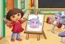 Dora w szkole Puzzle Maxi 20