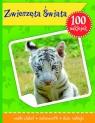 Zwierzęta Świata książeczka z plakatem i 100 naklejek
