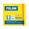 Karteczki samoprzylepne Milan Neon, żółte (85434)