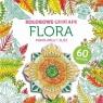 Kolorowe origami Flora Pokoloruj i złóż