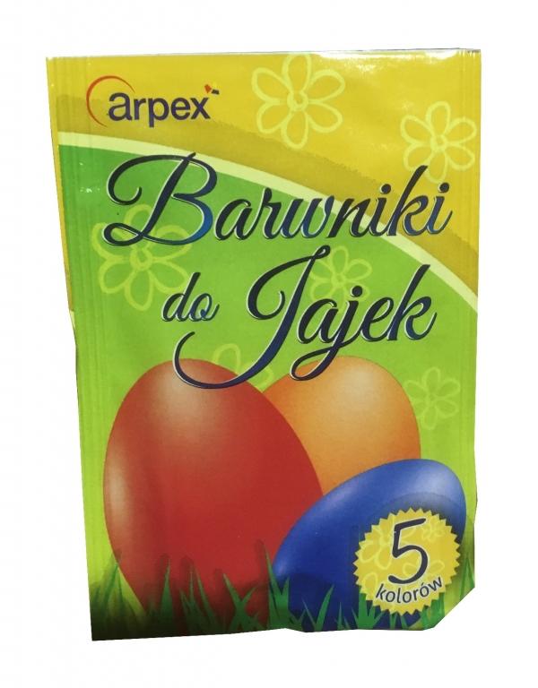 Barwniki do jaj 5 kolorów