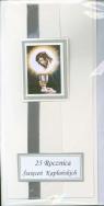 Karnet  25 Rocznica święceń Kapłańskich MIX DL RR rękodzieło DL RR