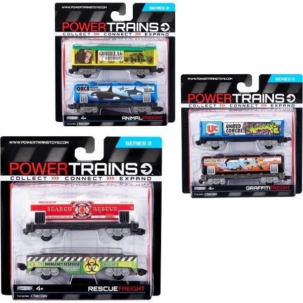 COBI Power Trains Dwa Wagony