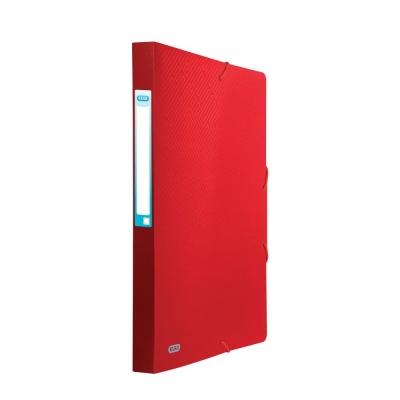 Teczka plastikowa na gumkę Elba Urban A4 kolor: czerwony (400104954)