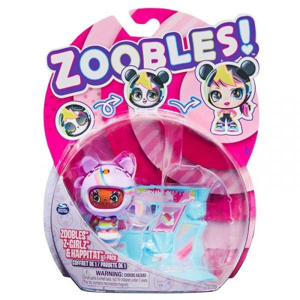 Zoobles - Laleczka Uni-QT (6061365/20131579)
