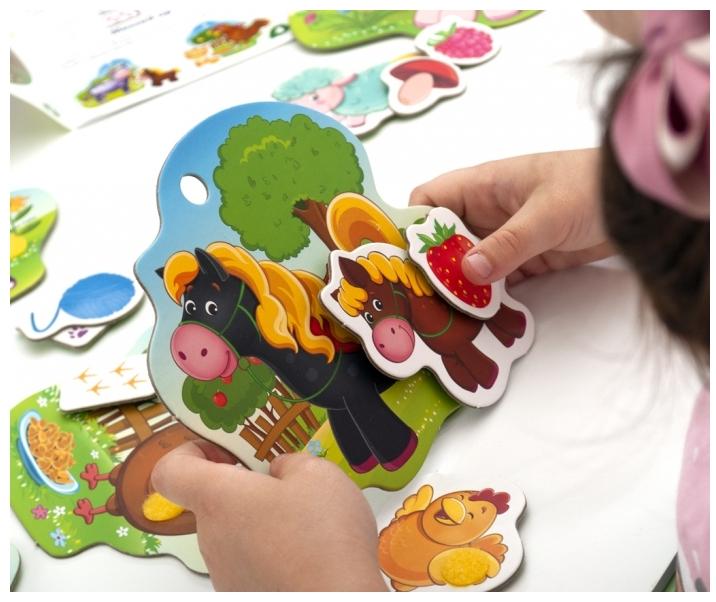 Mama i dziecko - Edukacyjna gra z rzepami (RK5101-02)