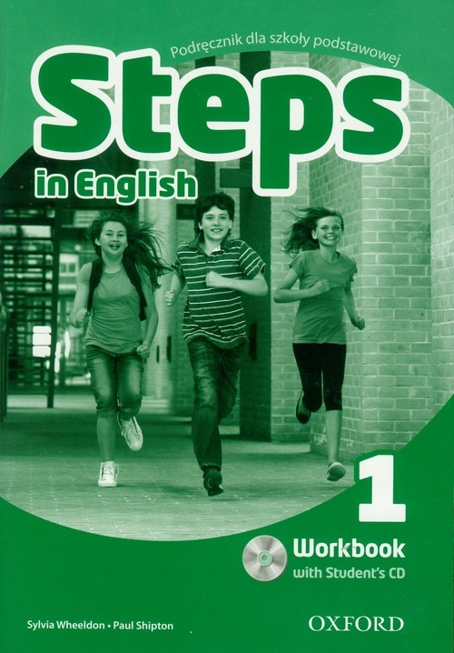 Steps In English 1 WB + CD Wheeldon Sylvia, Shipton Paul