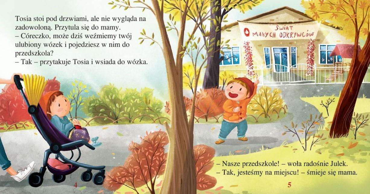 Tosia i Julek idą do przedszkola. (Nie) tacy sami Boćko-Mysiorska Magdalena