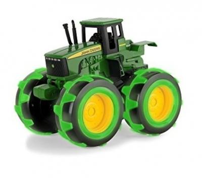 John Deere traktor świecące opony TOMY
