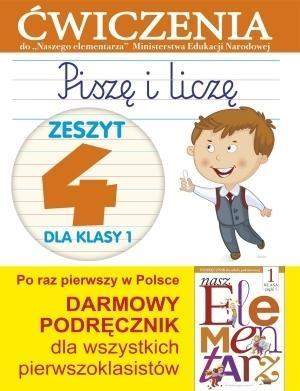 Piszę i liczę 1 Zeszyt 4 Wiśniewska Anna