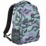 Plecak Milan duży 17l Turquoise Camouflage zielono-fioletowy (624601GM)