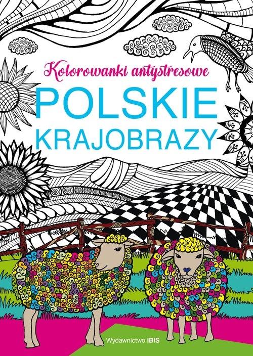 Polskie krajobrazy Kolorowanki antystresowe