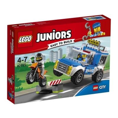 Lego JUNIORS 10735 Pościg furgonetką policyjną Juniors