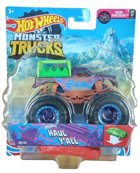 Hot Wheels Monster Trucks: Pojazd 1:64 - Haul Y'All (FYJ44/GTH72)