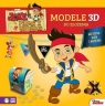 Modele 3D do złożenia. Jake i piraci z Nibylandii