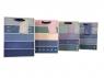 Torebka Lux z brokatem  A5 26x32x10 Jeans
