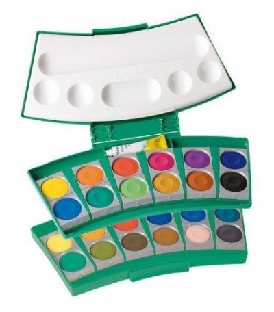 Farba wodna Procolor 735 24 kolory zieleń