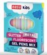 Żelopis mix fluo metal brokat - 48 kolorów