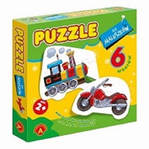 Puzzle dla maluszków lokomotywa
