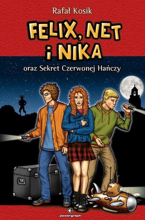 Felix, Net i Nika oraz Sekret Czerwonej Hańczy. Tom 12 Kosik Rafał