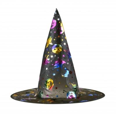 Kapelusz czarownicy z hologramem