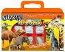 Pieczątki walizka Zwierzęta sawanny