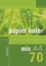Papier kolorowy A4 70k 120g mix kolorów