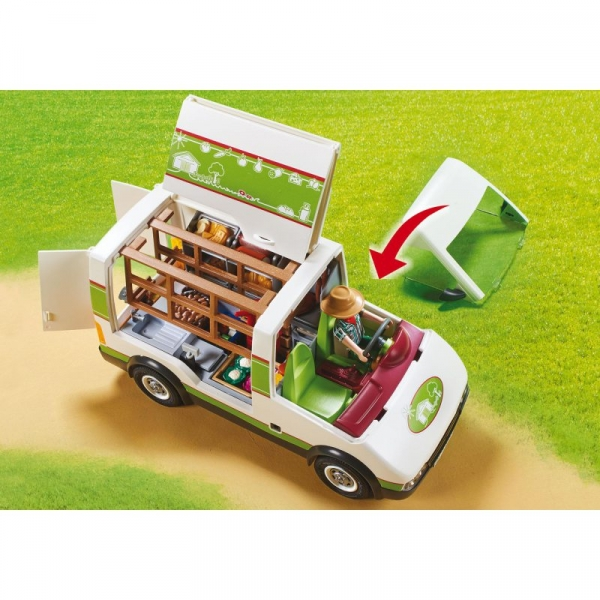 Playmobil Country: Samochód do sprzedaży owoców i warzyw (70134)