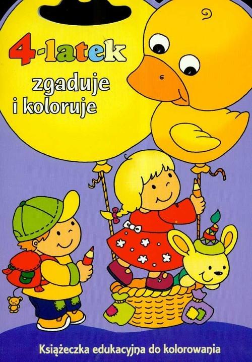 4-latek zgaduje i koloruje Joanna Myjak