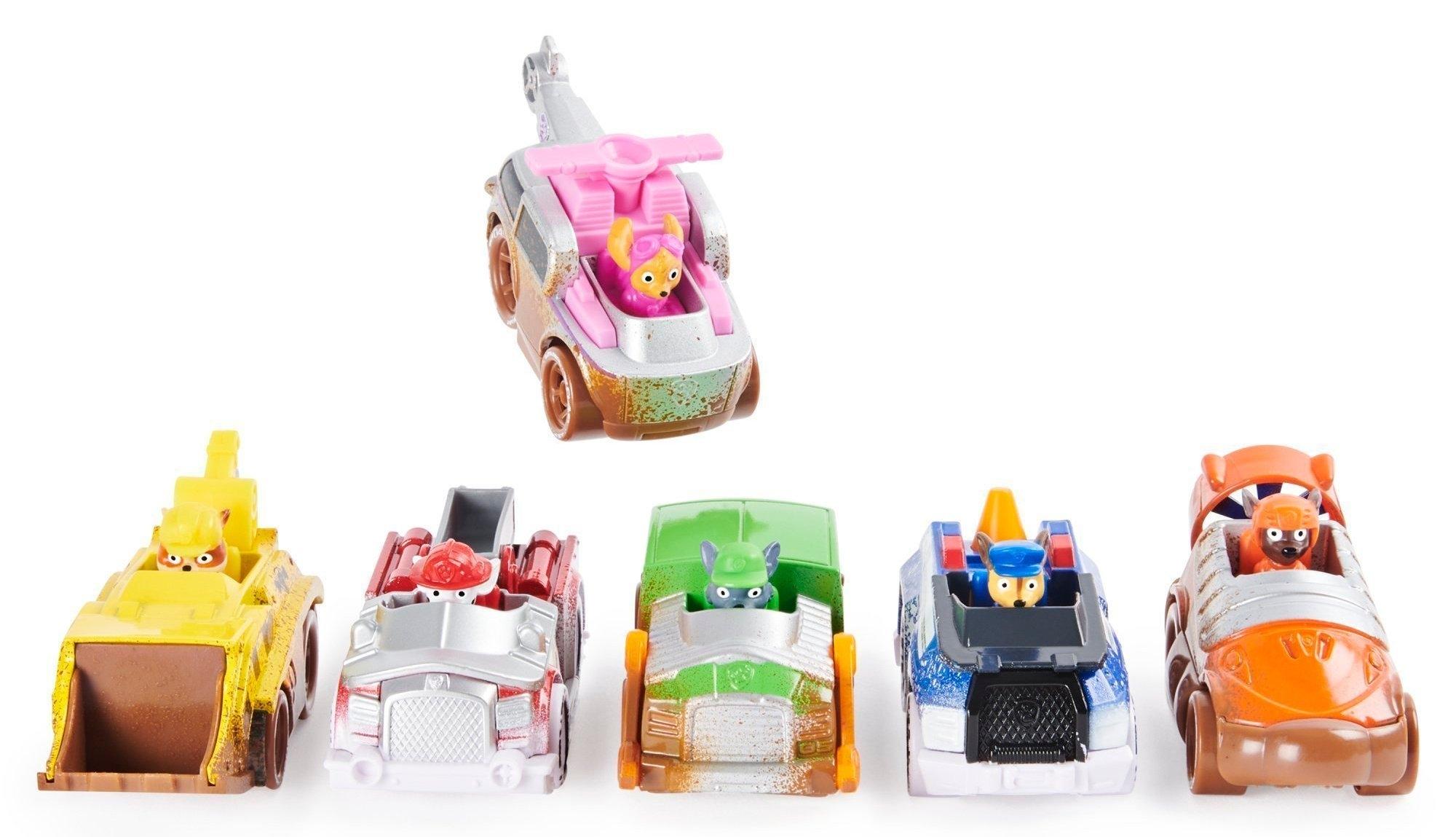 Psi Patrol: pojazd metalowy - Wielopak. Seria Off Road Mud (6058351)
