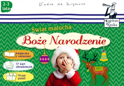 Kapitan Nauka. Świat malucha - Boże Narodzenie Bobrowski Hubert (red.)
