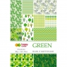 Blok z motywami Happy Color Green, A4, 15 arkuszy (HA 3808 2030-G)