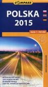 Polska 2015 mapa samochodowa 1:700 000