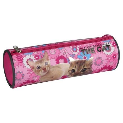 Piórnik tuba okrągły The Cat 13
