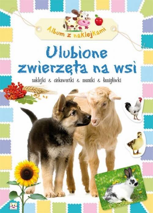 Ulubione zwierzęta na wsi Album z naklejkami Bator Agnieszka