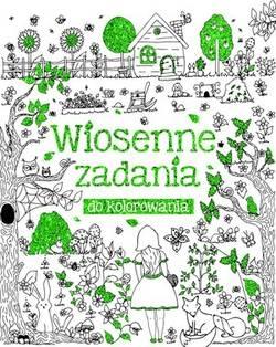 Wiosenne zadania do kolorowania Beata Białogłowska-Piwko