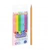 Kredki ołówkowe pastelowe - 12 kolorów