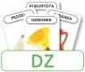 Karty: Logopedyczny Piotruś - Część VIII, głoska DZ