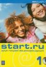 Start.ru 1 Język rosyjski dla początkujących z płytą CD
