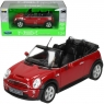 WELLY Mini Cooper S Cabrio, czerwony (WE22461)