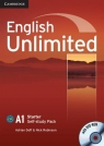 English Unlimited Starter Self-study Pack + DVD